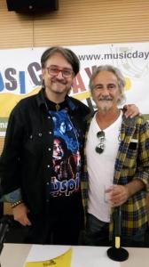 Claudio Simonetti e Fabio Pignatelli dei Goblin